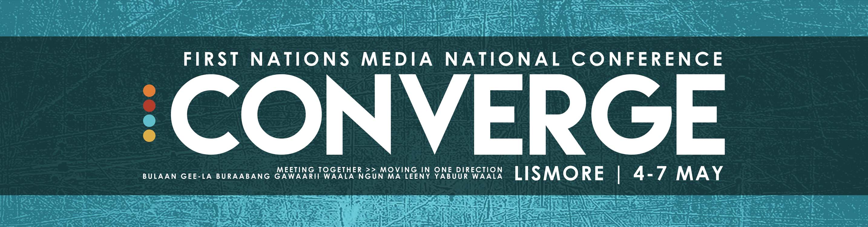 First Nations Media Converge Banner